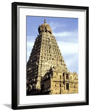 Brahadeeshwara Temple, UNESCO World Heritage Site, Thanjavur, Tamil Nadu, India, Asia-Balan Madhavan-Framed Photographic Print
