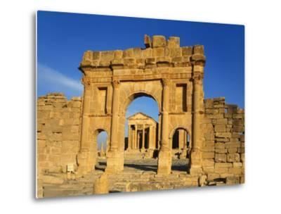 Sbeitla, Tunisia, Africa-Charles Bowman-Metal Print