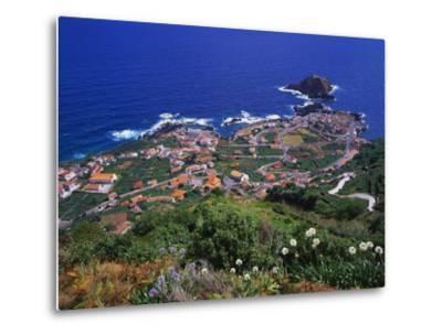 Porto Moniz, Madeira, Portugal-Hans Peter Merten-Metal Print