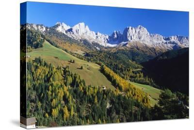 Trentino-Alto Adige and the Dolomite Mountains, Italy-Gavin Hellier-Stretched Canvas Print