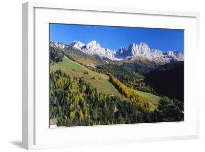 Trentino-Alto Adige and the Dolomite Mountains, Italy-Gavin Hellier-Framed Photographic Print