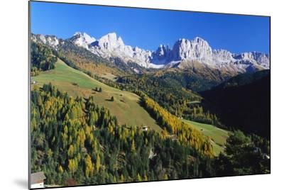 Trentino-Alto Adige and the Dolomite Mountains, Italy-Gavin Hellier-Mounted Photographic Print