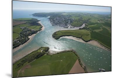 Salcombe, Devon, England, United Kingdom, Europe-Dan Burton-Mounted Photographic Print