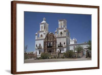 San Xavier Del Bac Mission-Richard Maschmeyer-Framed Photographic Print