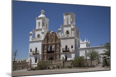 San Xavier Del Bac Mission-Richard Maschmeyer-Mounted Photographic Print