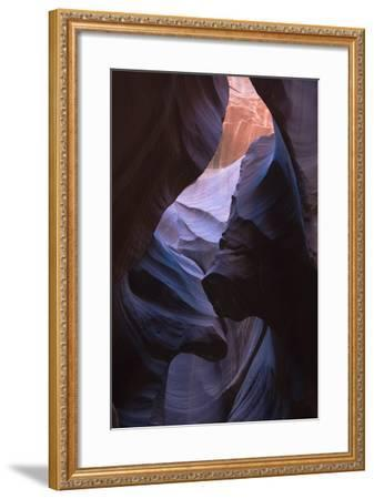 Eroded Curves in Sandstone-Jean Brooks-Framed Photographic Print