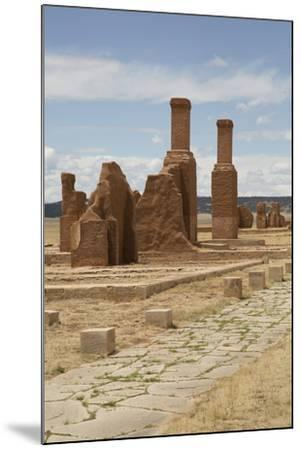 Remains of Buildings at Fort Union National Monument-Richard Maschmeyer-Mounted Photographic Print