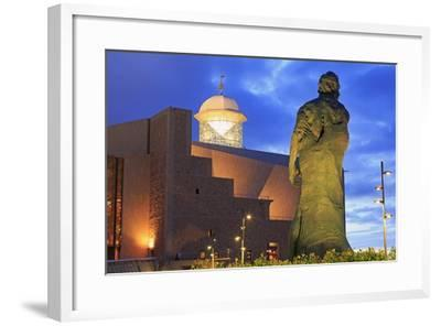 Afredo Kraus Auditorium, Las Palmas City, Gran Canaria Island, Canary Islands, Spain, Europe-Richard Cummins-Framed Photographic Print