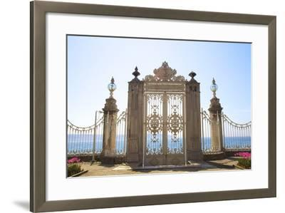 Gate to the Bosphorus, Dolmabahce Palace, Istanbul, Turkey, Europe-Neil Farrin-Framed Photographic Print