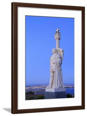 Juan Rodriguez Cabrillo Statue-Richard Cummins-Framed Photographic Print