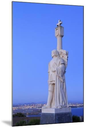 Juan Rodriguez Cabrillo Statue-Richard Cummins-Mounted Photographic Print