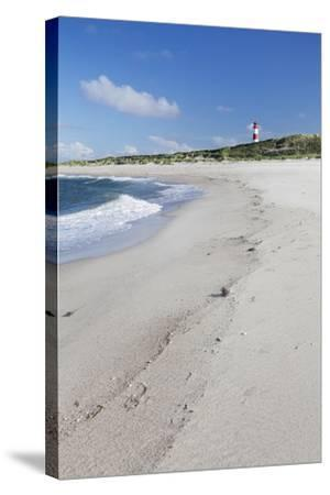 Beach and Lighthouse List Ost-Markus Lange-Stretched Canvas Print