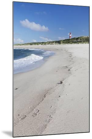 Beach and Lighthouse List Ost-Markus Lange-Mounted Photographic Print