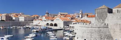 Old Town of Dubrovnik, UNESCO World Heritage Site, Dalmatia, Croatia, Europe-Markus Lange-Framed Photographic Print