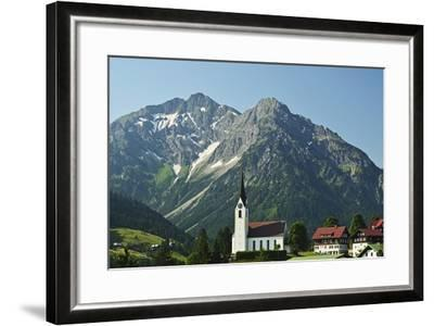 Hirschegg, Kleines Walsertal, Austria, Europe-Jochen Schlenker-Framed Photographic Print