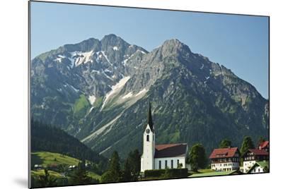 Hirschegg, Kleines Walsertal, Austria, Europe-Jochen Schlenker-Mounted Photographic Print
