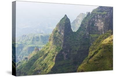 Simien Mountains National Park, UNESCO World Heritage Site, Amhara Region, Ethiopia, Africa-Gabrielle and Michael Therin-Weise-Stretched Canvas Print