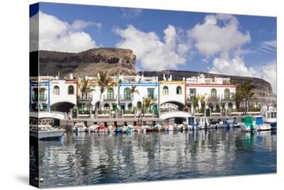 Puerto De Mogan, Gran Canaria, Canary Islands, Spain, Atlantic, Europe-Markus Lange-Stretched Canvas Print