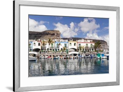 Puerto De Mogan, Gran Canaria, Canary Islands, Spain, Atlantic, Europe-Markus Lange-Framed Photographic Print