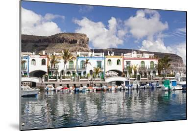 Puerto De Mogan, Gran Canaria, Canary Islands, Spain, Atlantic, Europe-Markus Lange-Mounted Photographic Print