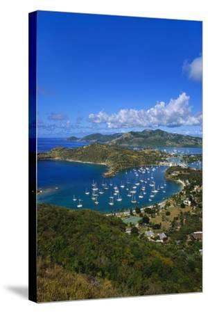 English Harbour, Antigua, Caribbean-Jeremy Lightfoot-Stretched Canvas Print
