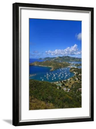 English Harbour, Antigua, Caribbean-Jeremy Lightfoot-Framed Photographic Print