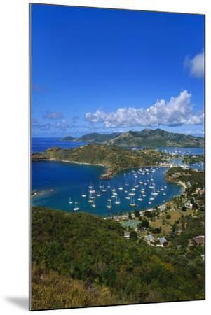 English Harbour, Antigua, Caribbean-Jeremy Lightfoot-Mounted Photographic Print