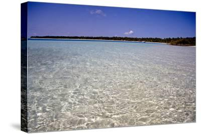 Clear Water Off Bangaram Island, Lakshadweep Islands, India, Indian Ocean, Asia-Balan Madhavan-Stretched Canvas Print