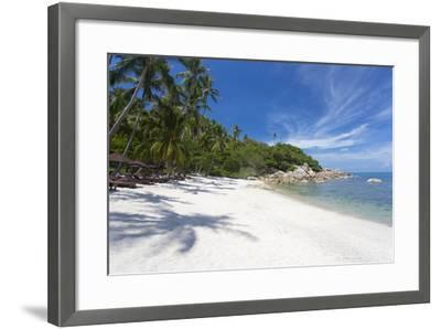 Private Secluded Beach Fringed by Palm Trees at the Silavadee Pool Spa Resort Near Lamai-Lee Frost-Framed Photographic Print