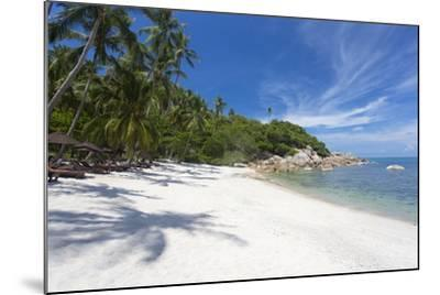 Private Secluded Beach Fringed by Palm Trees at the Silavadee Pool Spa Resort Near Lamai-Lee Frost-Mounted Photographic Print