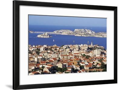 Views of Chateau D'If and Frioul Island, Marseille, Provence, France-John Miller-Framed Photographic Print