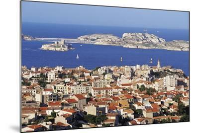 Views of Chateau D'If and Frioul Island, Marseille, Provence, France-John Miller-Mounted Photographic Print