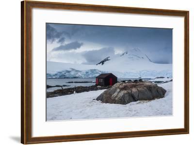 Port Lockroy Research Station, Antarctica, Polar Regions-Michael Runkel-Framed Photographic Print