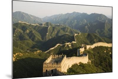 Great Wall of China at Badaling-Christian Kober-Mounted Photographic Print