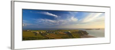 Rhossili Bay, Gower, Peninsula, Wales, United Kingdom, Europe-Billy Stock-Framed Photographic Print