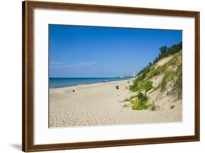 Indiana Sand Dunes, Indiana, United States of America, North America-Michael Runkel-Framed Photographic Print