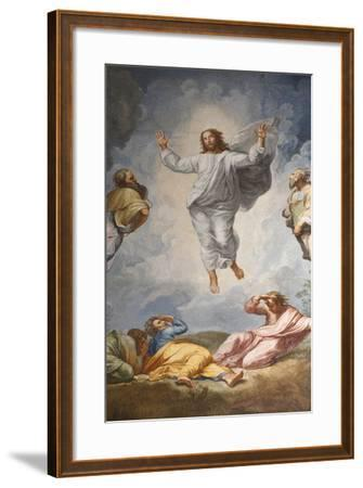 Raphael's Oil Painting of the Resurrection of Jesus Altar of the Transfiguration Altarpiece-Godong-Framed Photographic Print