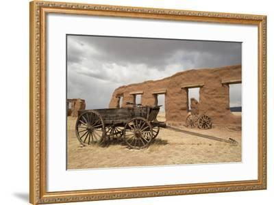 Old Wagons, Fort Union National Monument, New Mexico, United States of America, North America-Richard Maschmeyer-Framed Photographic Print