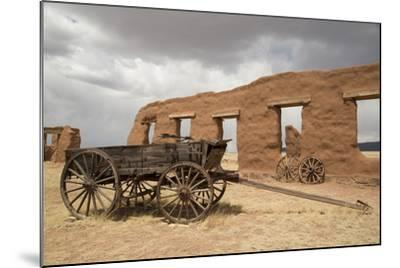 Old Wagons, Fort Union National Monument, New Mexico, United States of America, North America-Richard Maschmeyer-Mounted Photographic Print