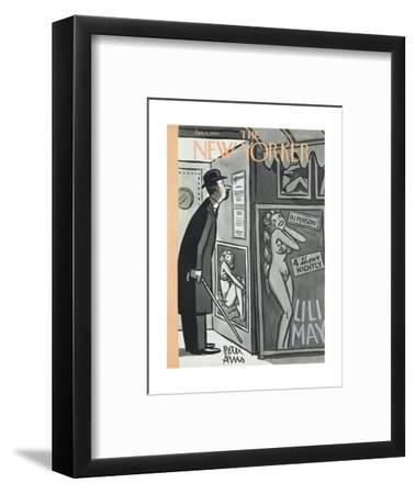 The New Yorker Cover - January 9, 1954-Peter Arno-Framed Premium Giclee Print