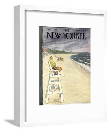 The New Yorker Cover - September 13, 1952-Perry Barlow-Framed Premium Giclee Print