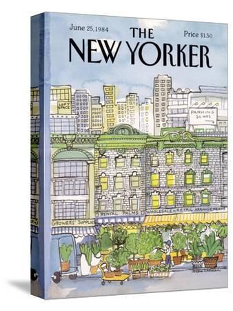 The New Yorker Cover - June 25, 1984-Barbara Westman-Stretched Canvas Print