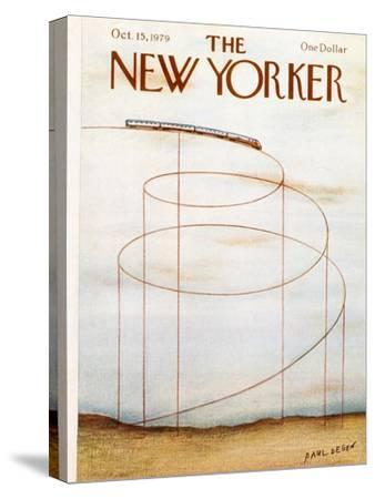 The New Yorker Cover - October 15, 1979-Paul Degen-Stretched Canvas Print
