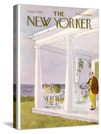 The New Yorker Cover - August 31, 1968-James Stevenson-Stretched Canvas Print
