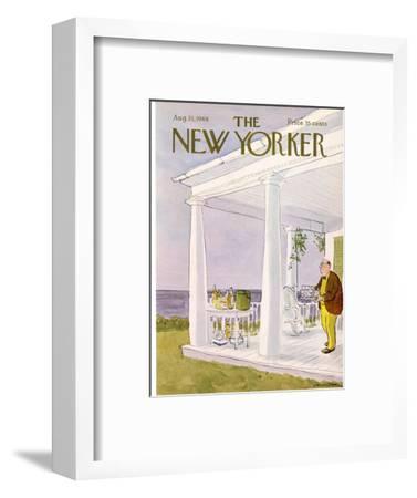 The New Yorker Cover - August 31, 1968-James Stevenson-Framed Premium Giclee Print