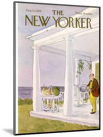 The New Yorker Cover - August 31, 1968-James Stevenson-Mounted Premium Giclee Print