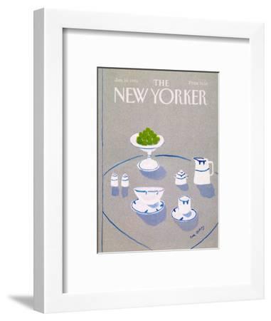 The New Yorker Cover - January 14, 1985-Eve Olitsky-Framed Premium Giclee Print
