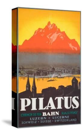 Pilatus Poster--Stretched Canvas Print