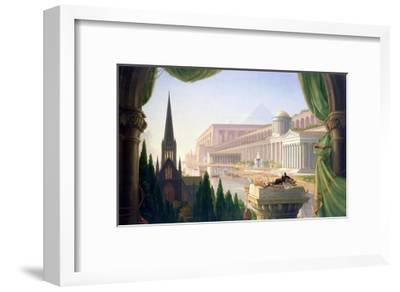 Architect's Dream-Thomas Cole-Framed Giclee Print