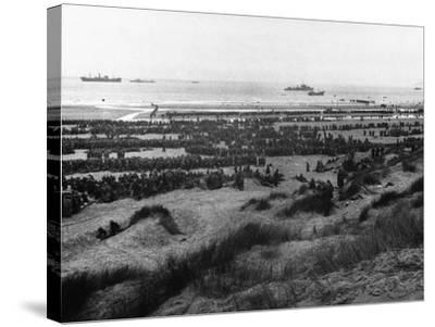 Dunkirk Evacuation--Stretched Canvas Print